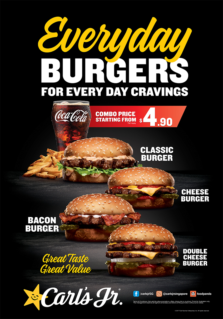 promotions | carl's jr. singapore